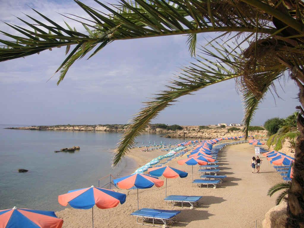 Пляжи на Кипре