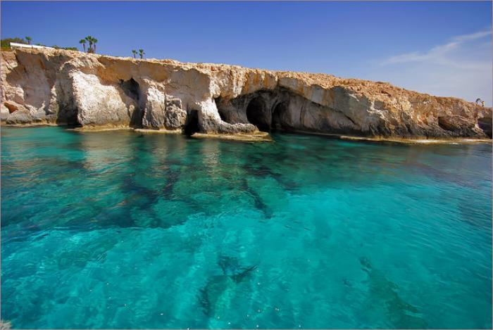 Необыкновенные пляжи на Кипре