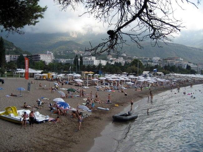 Особенности пляжа Бечичи