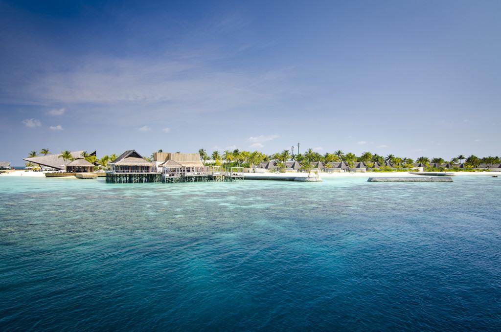Частный пляж отеля Vittaveli Jumeirah
