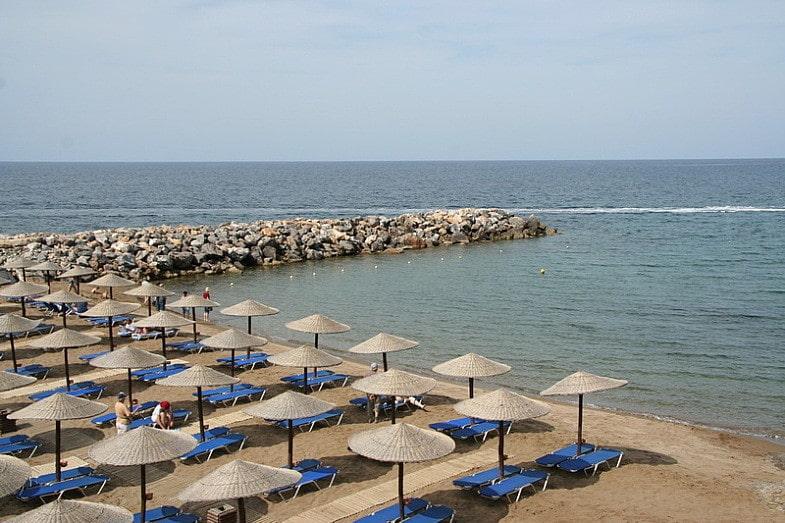Пляж Панормо -отдых