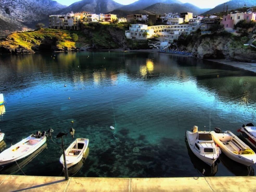 Пляж Панормо - Крит