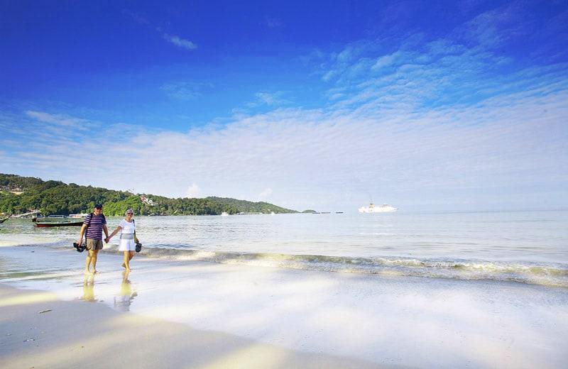 Патонг пляж города