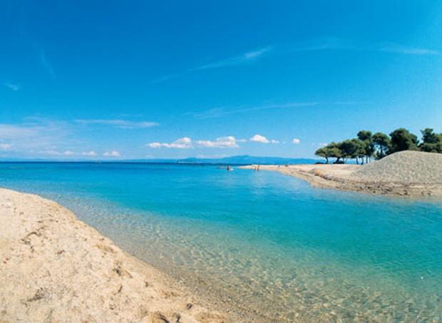 Пляж Неа Хора