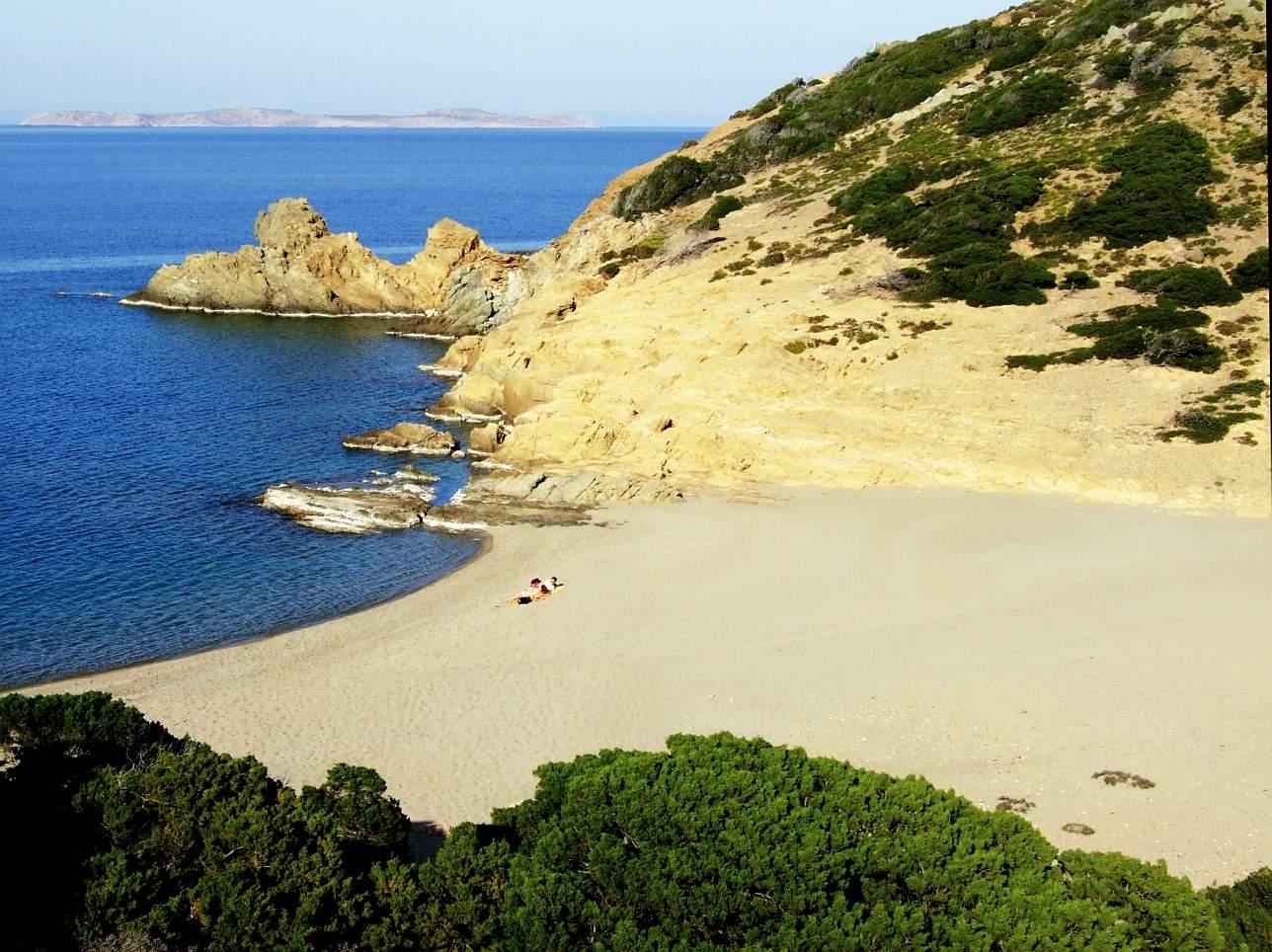 Пляжи Западного Крита