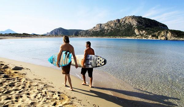 Серфинг -Греция
