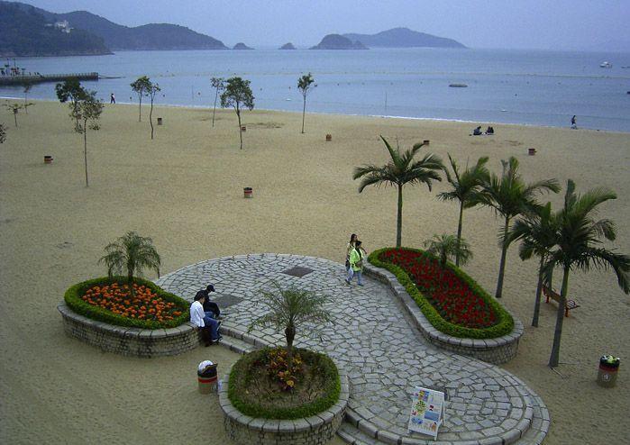 Пляжи острова Гонконг