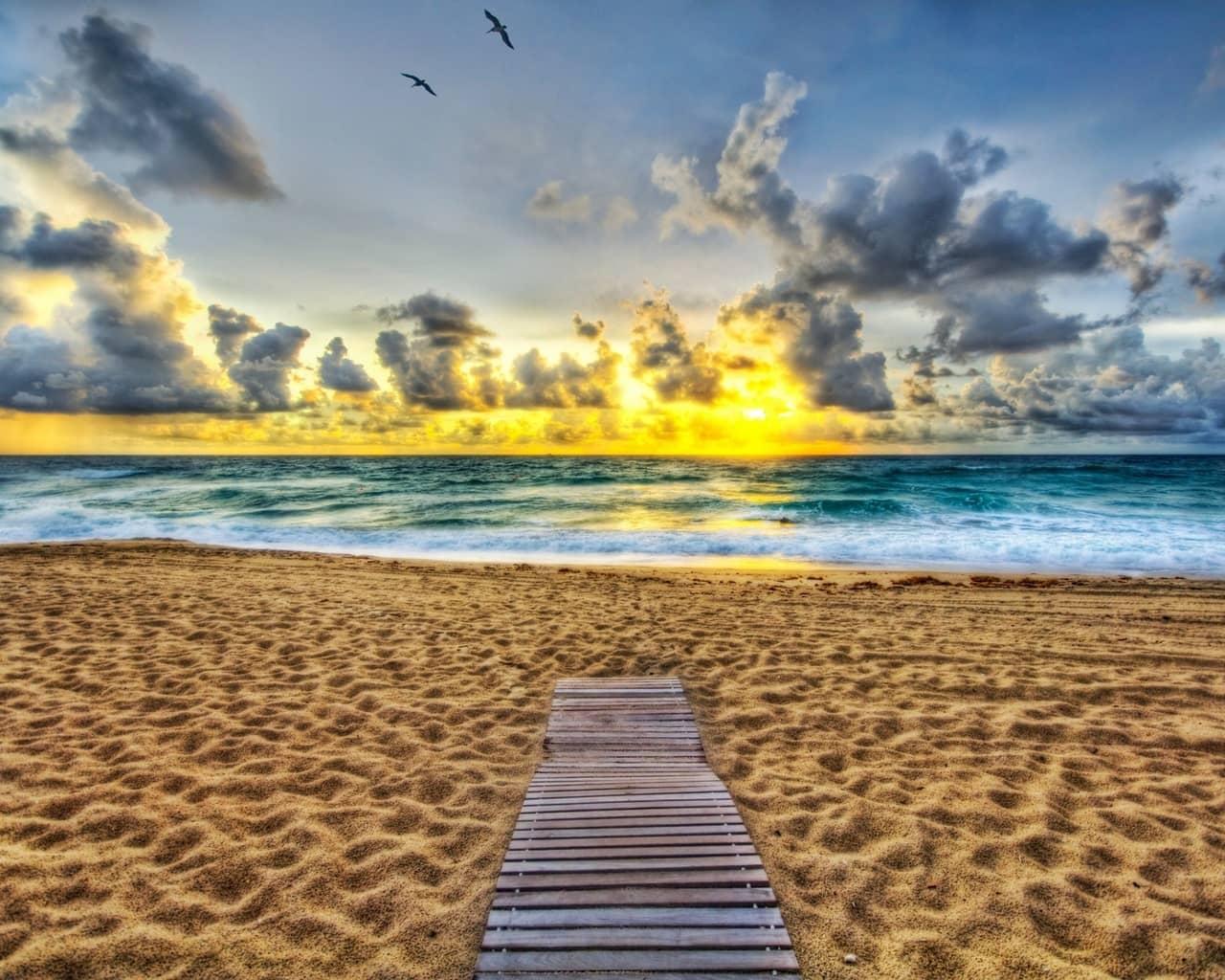 Пляж в Палм-Бич