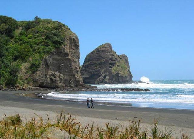 Пляж Пиха- черная жемчужина Окленда