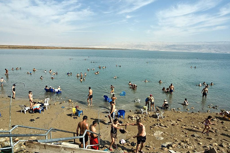Пляж Калия на Мертвом море