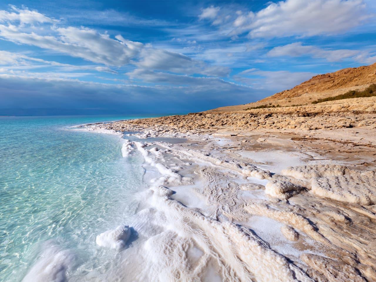 Популярные пляжи Мертвого моря
