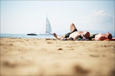Пляжи Киева гидропарк
