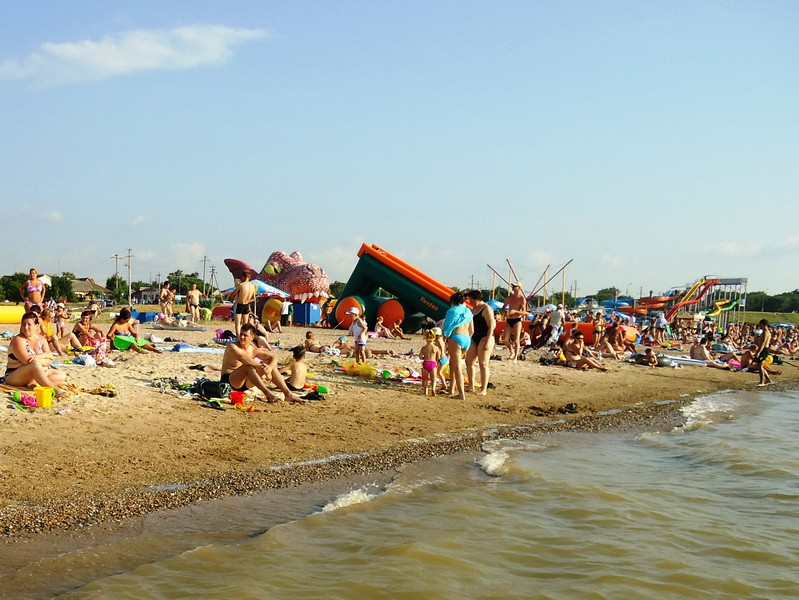 Пляжный отдых в Ейске