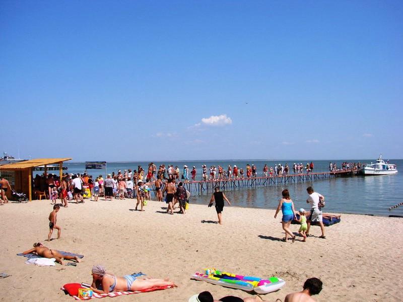 Детский пляж Меляки
