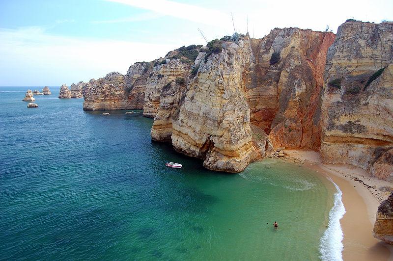 Пляж Praia da Dona Ana