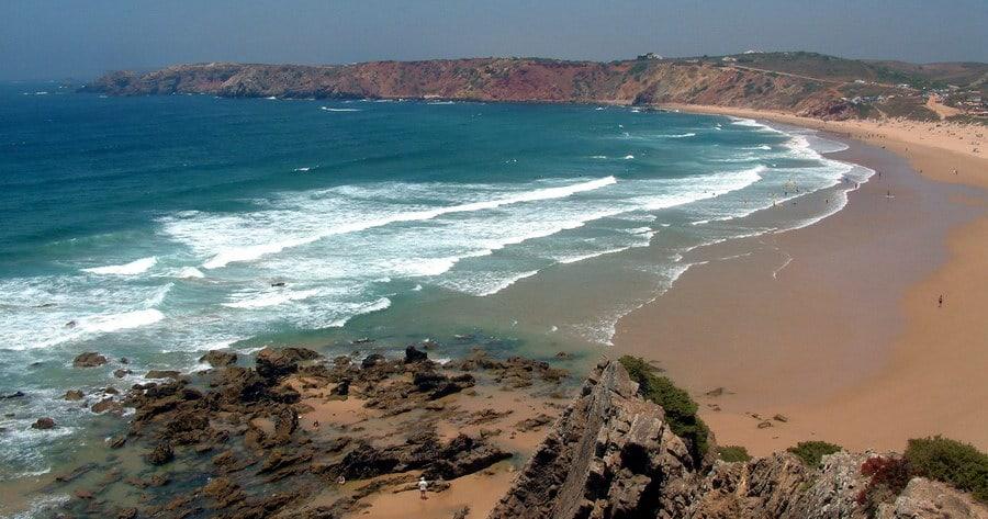 Пляж Praia do Amado