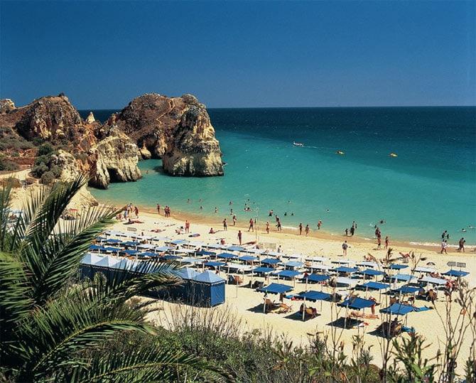 Cамые красивые пляжи Алгарве