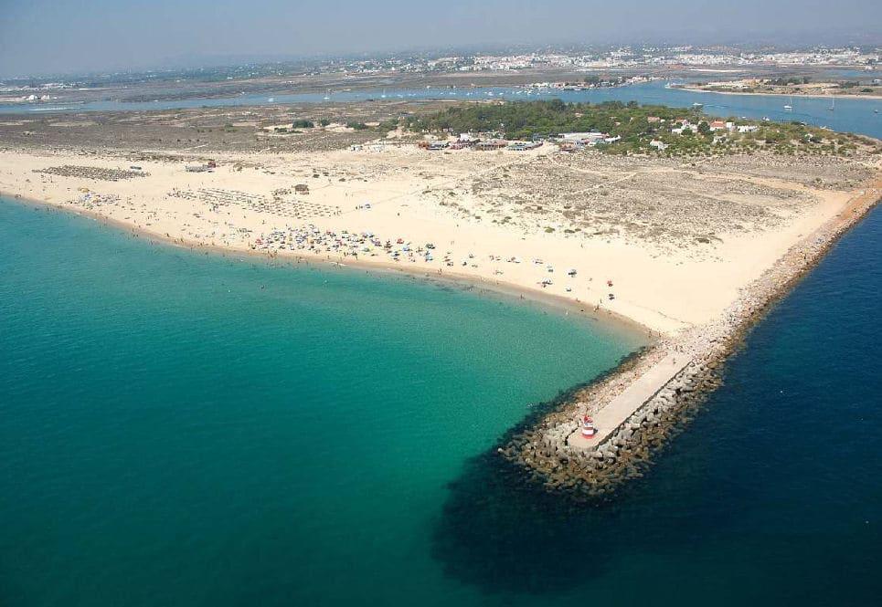 Пляж Рraia Tavira