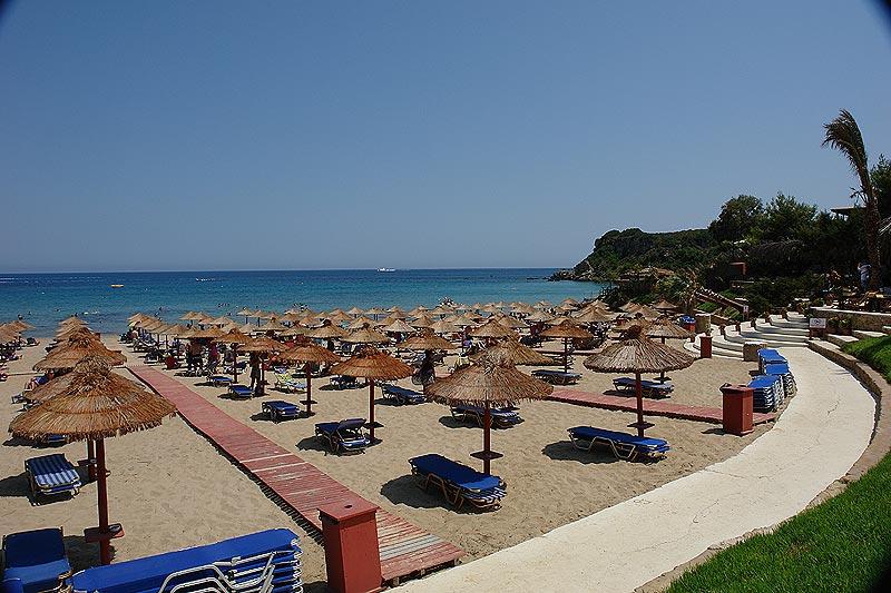 Пляж Ammos
