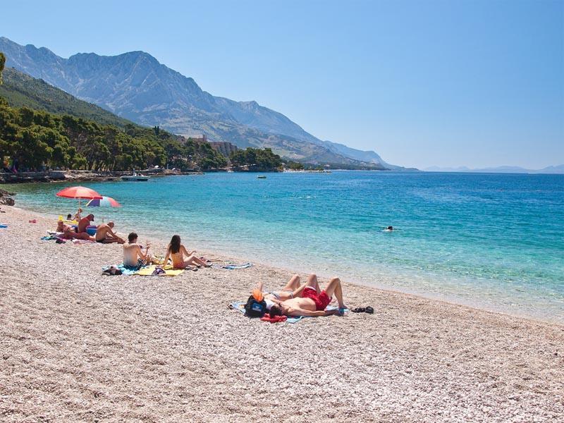 Пляжи Брела в Хорватии
