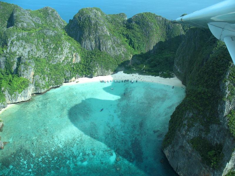 Бухта Майя, остров Пхи-Пхи Лей