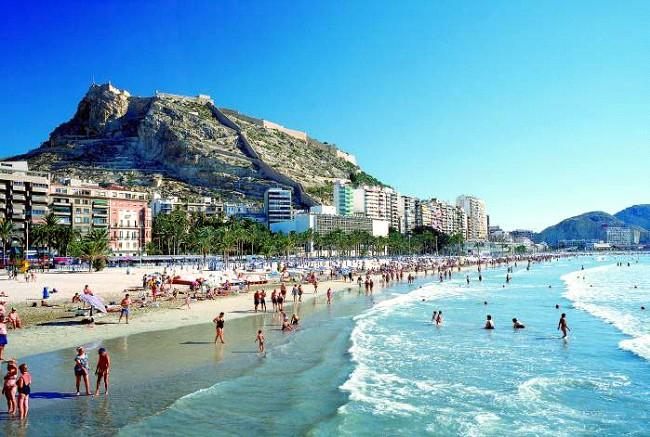 Пляжи Аликанте на фото