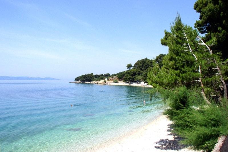 Пляжи Трогира в Хорватии