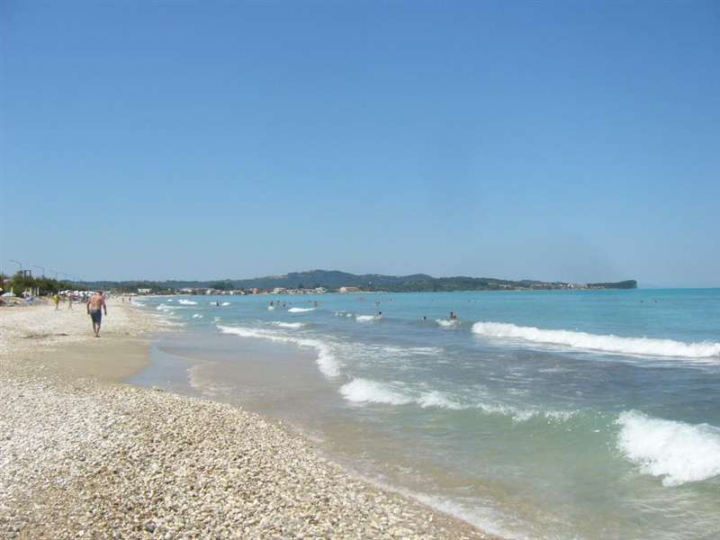 Пляж Ахарави на Корфу