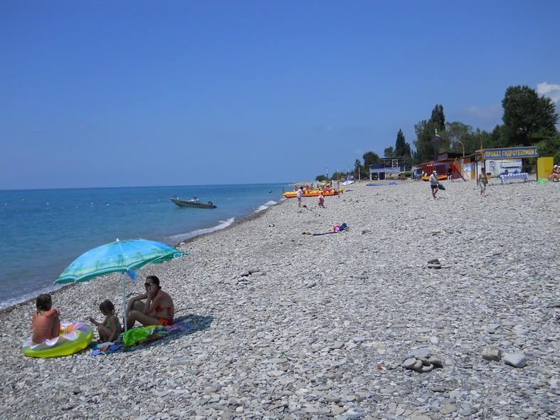 Отдых на пляжах в Аше