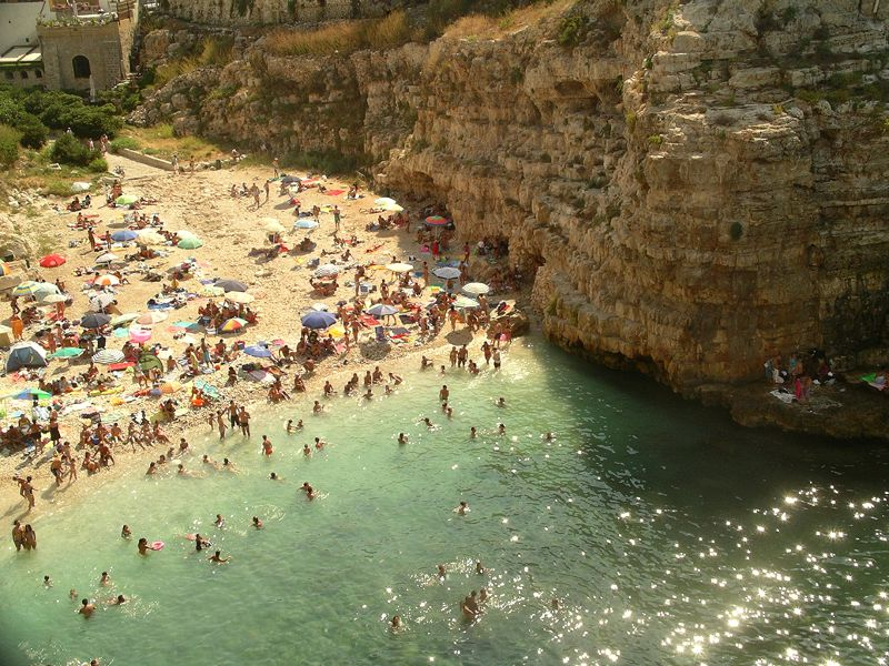 Особенности пляжей Бари