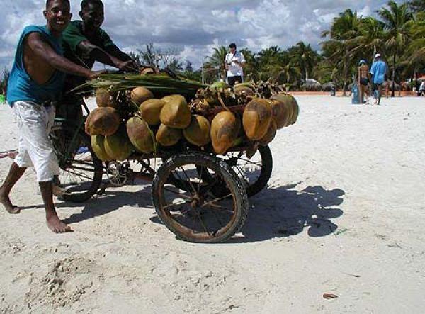 Пляж Playa Andres
