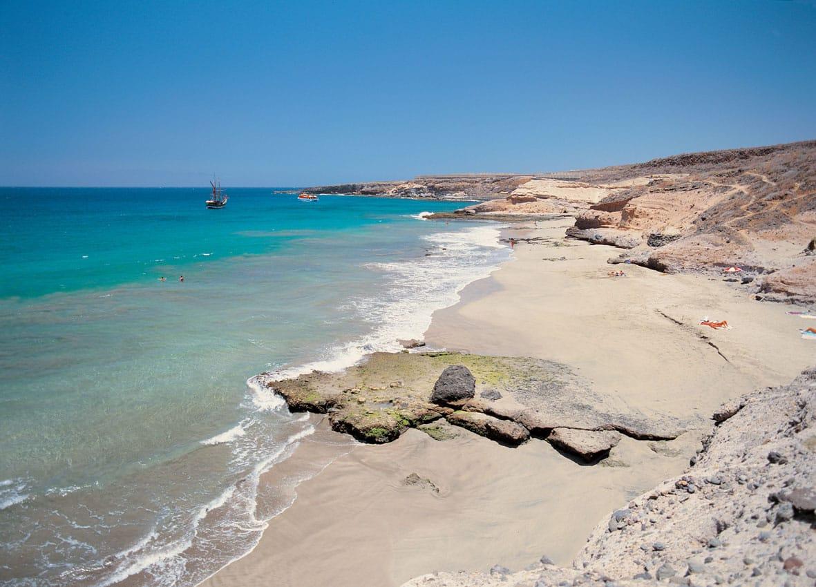 Пляжи Тенерифе на Costa Adeje