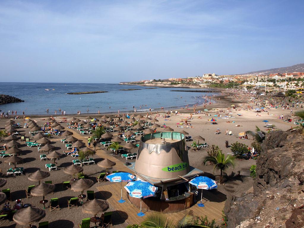 Пляж Playa Torviscas
