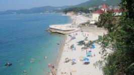 Пляжи в поселке Агоя