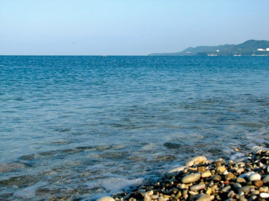 Фотографии пляжей курорта Агой
