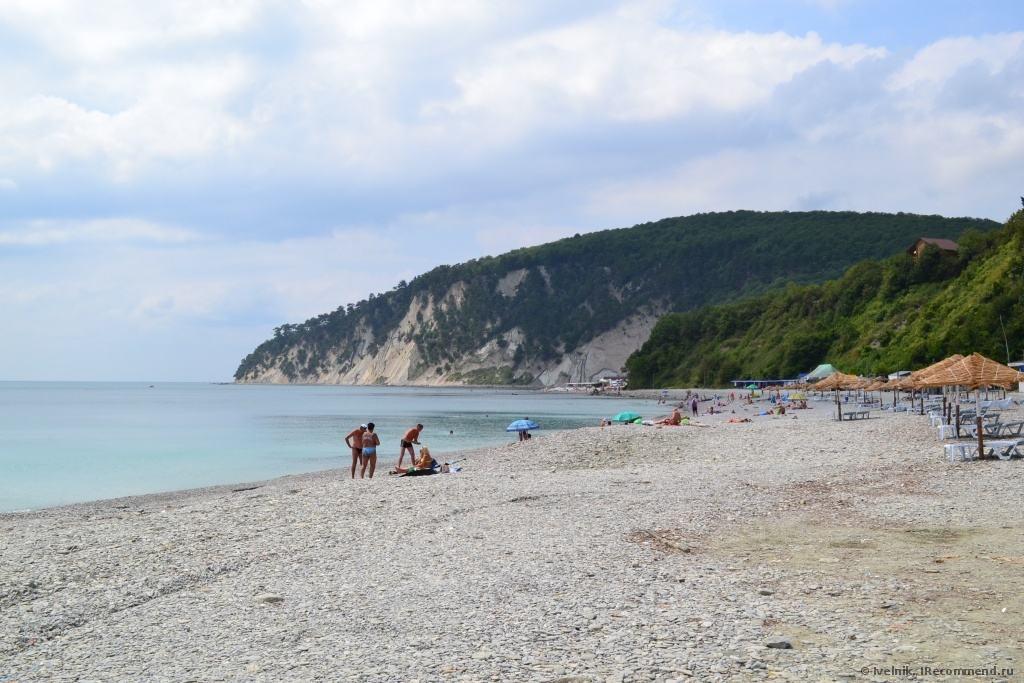 Пляж Норникель