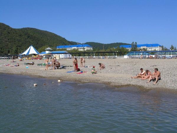 Какие пляжи в Архипо-Осиповке