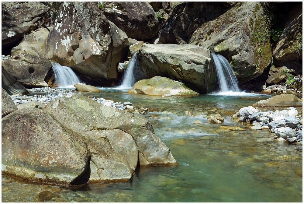 Изумрудные водопады Аше