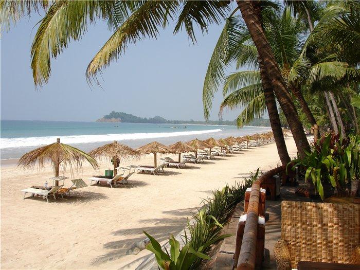 Пляжный отдых в Бирме