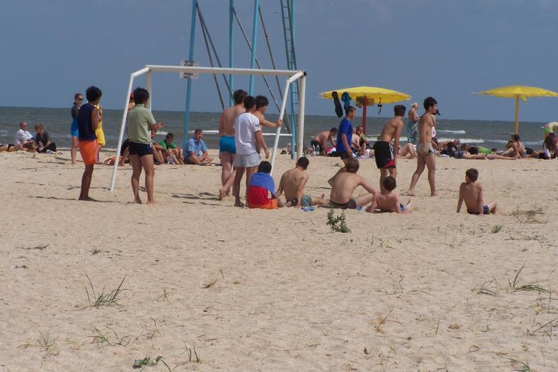 """Пляж """"Оазис"""" на Азовском побережье"""