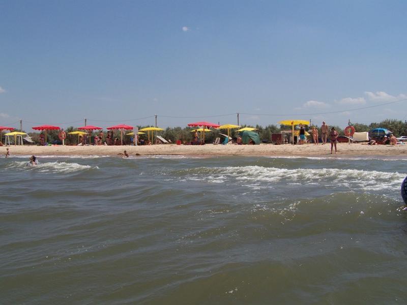 Летом на пляже Оазис