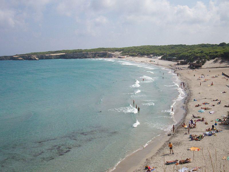 Пляж Торре делль Орсо