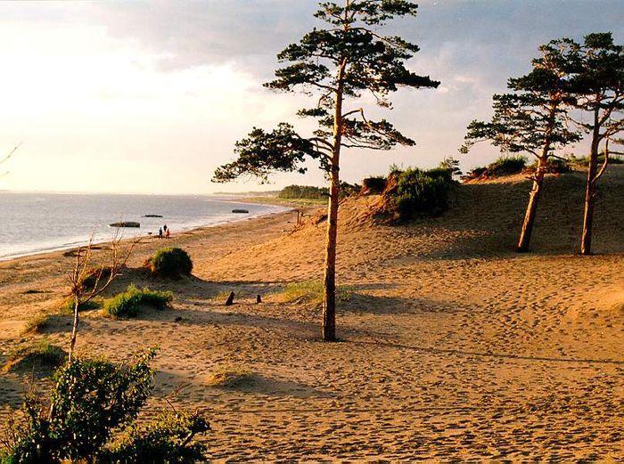 Пляжи острова Ягры