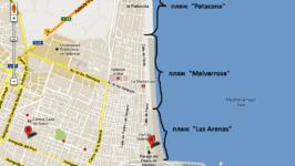 Какие городские пляжи в Валенсии