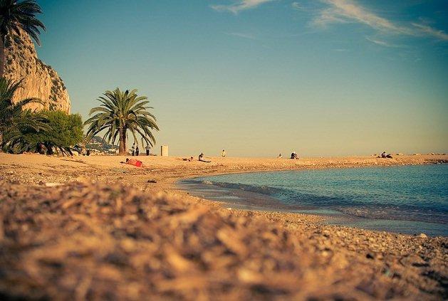 Лазурные пляжи Французской Ривьеры