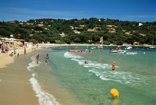 Пляжи Сен-Тропе