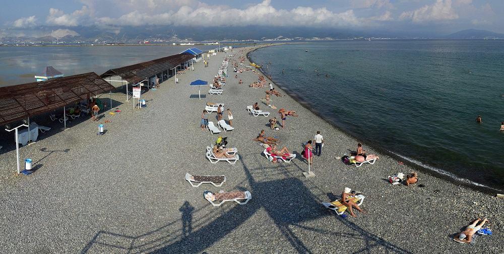 Пляж в Алексино