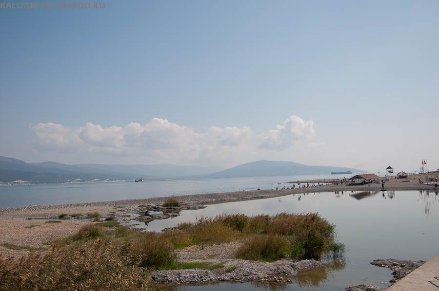 Пляж на Суджукской косе