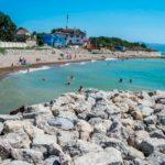 Мысхако пляж море
