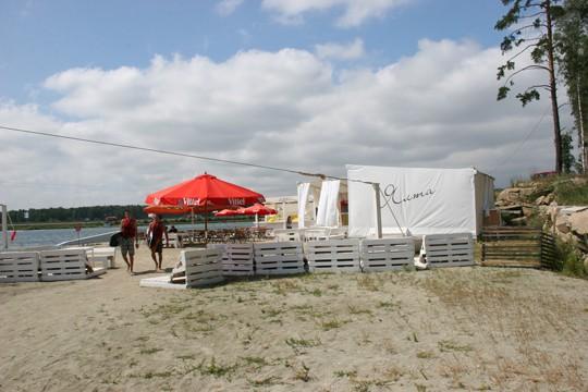 Пляж отеля Ramada